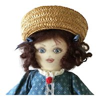17 Inch Sweet All Cloth Doll