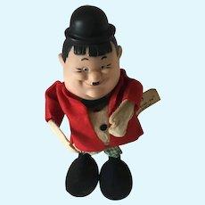 Oliver Hardy Bend-em Doll Japan