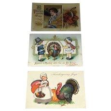 Thanksgiving a Postcard Lot # 3