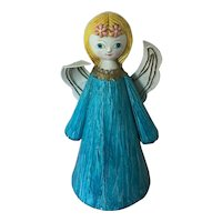 Vintage Holiday Angel -  paper mache from Japan