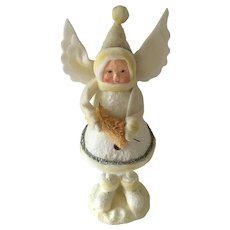 Standing a Holiday Angel in Cotton Batten