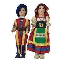 Pair- Italian Dolls