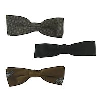 Vintage Men's Bow Tie lot #1