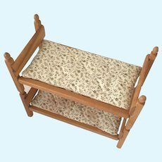 "Strombecker Wooden beds for 8"" dolls"