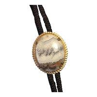 Bolo/String Tie with genuine stone