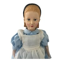 """1998 Strong Museum Doll  """"Alice in a Wonderland """""""