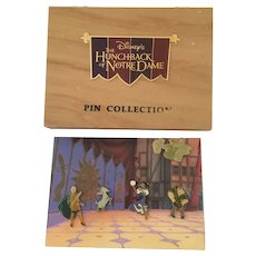 Disney's Hunchback of Notre Dame Pin Collection