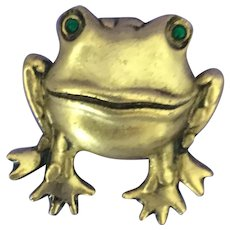 Fun Frog Pin