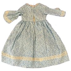 Cotton  Doll Dress  styled for  Antique China or Parian
