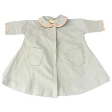 Vintage Light Blue Cotton Dolls Coat