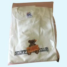 Steiff Club Size Medium T Shirt Brand New