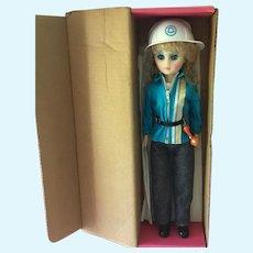 "Vintage Telephone ""Bell Doll"" 15"" in original box"