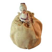 Small  vintage pincushion doll