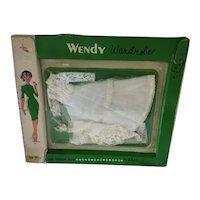 "11 1/2 ""  Doll Bridal Gown original packaging Wendy"