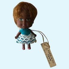 Little kiddle size  girl doll from 1968