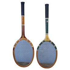 Original Spalding Tennis Racquets Olympic Ardmore Fine Wood Fabrication-1940's