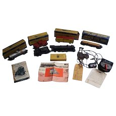 Gilbert American Flyer Train Set Complete Set of Five-3/16'' Scale No. 5620 T-1950's