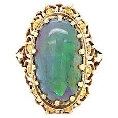Vintage Opal Ring in 14 karat Gold