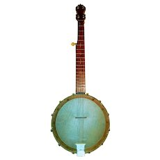 Banjo. Five string. Circa 19th century