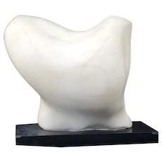 Modern mid century Abstract sculpture by Michel Elia (Born 1903)