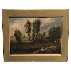 Life outside the city  ,English School , 1838