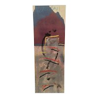 Important contemporary abstract expressionist artwork by Jeffrey R. Beardsall