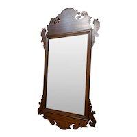 Vintage Chippendale Style Mirror, Carol Mirror, Carol Stream, IL  Aug 1941