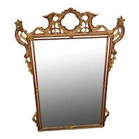 Vintage JEFFCO Beveled Gilt Fancy Wall Mirror circa 1969-1990