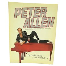PETER ALLEN book by David Smith and Neal Peters