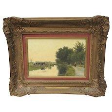 Jan Willem Van Borselen Painting Dutch 19th Century