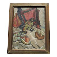Frank Horowitz  Oil on Canvas Painting Still-life