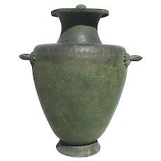 Grand Tour Massive Bronze Hydra Vessel from Pompeii Model