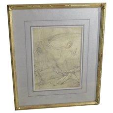 Giulio Aristide Sartorio  Drawing