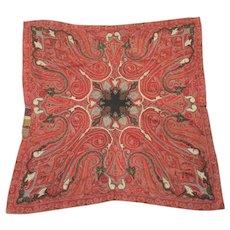 Antique Kashmiri Wool Paisley Throw