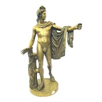 Grand Tour Apollo Belvedere French Bronze