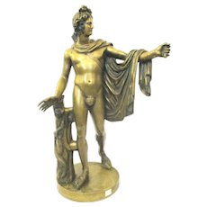 Apollo Belvedere French Bronze