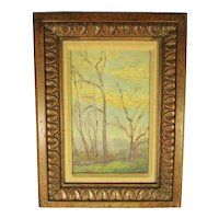 Charles Svendsen American Landscape Painting Mid-Century Ohio Painter