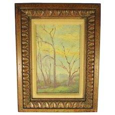 Charles Svendsen Landscape Painting