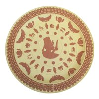 Wedgwood Jasperware Egyptian Trophy Plate