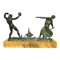 Benneteau-Desgrois Bronze  of The Dance of Fire circa. 1920