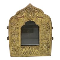 Tibetan Traveling Shrine Gau Box for Painting Scrolls