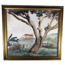 Stevan Dohanos Watercolor  Landscape 1936