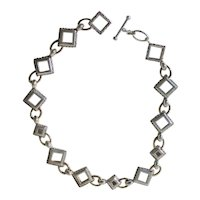 Michael Dawkins  Sterling Silver Necklace Chain