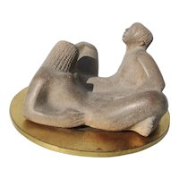 Chuck Dodson  Polished Concrete Sculpture Erotic Couple
