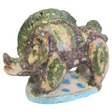 1950s  Guido Gambone Ceramic Boar