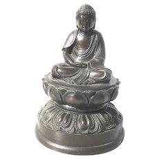 Edo Bronze Buddha Japanese
