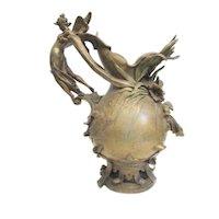 Anton R Nelson Art Nouveau Vase.