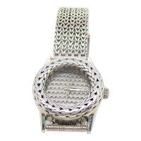 1990s John Hardy Sterling Silver  Wrist Watch Unisex style
