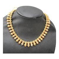 Bulgari Italian Hellenistic  Style Necklace 18kt.