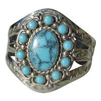 Nickel Silver Navajo Style Cuff